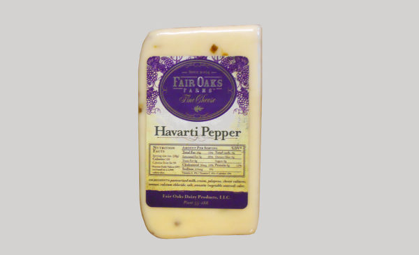 Fair Oaks Havarti - Pepper