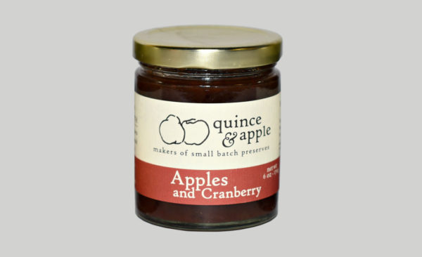 Apple Preserves - Apples and Cranberry