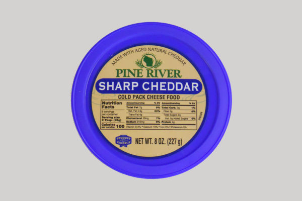 Pine River Cheese Spread - Sharp Cheddar