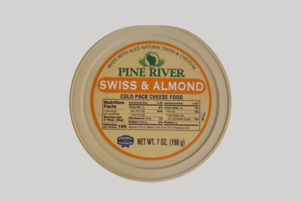 Pine River Cheese Spread - Swiss Almond