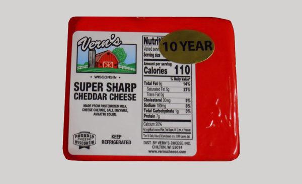 Super Sharp 10-yr Cheddar
