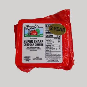 Vern's Super Sharp Cheddar - 2yr